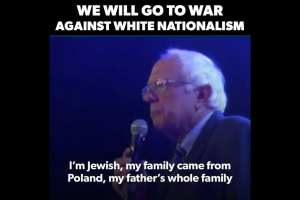 Sanders: We will go to war with White Nationalism and Racism