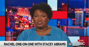 Stacey Abrams claims Republicans are using cops to stop minorities from voting
