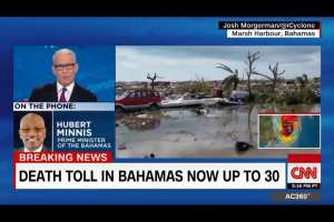 Bahamas PM: Death numbers would be higher without US help