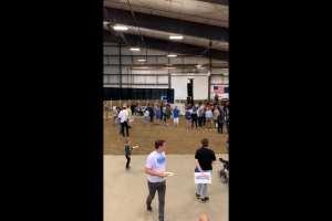 ISU crowd very small for Bernie Rally