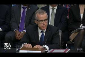 US Attorney recommends charges for Andrew McCabe over Hillary leak