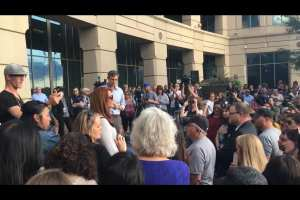 """Columbine Survivor: Good portion of Beto Rally crowd was there to tell him """"Hell No"""" on taking guns"""