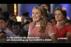 "Student: Climate Change gives me ""visceral anxiety every day"""