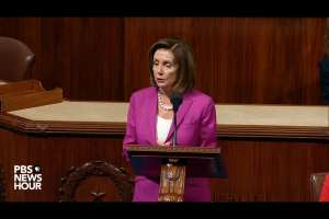Pelosi wants a law to indict sitting Presidents