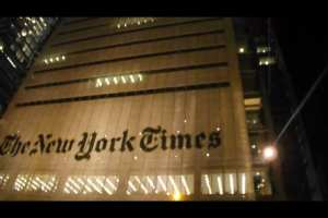 NYT attempting to cover up for Deep State, hits Trump over inquiry