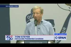 Steyer compares impeaching Trump to fighting Nazis