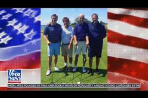 2014: Joe and Hunter Biden golf with Ukraine execs