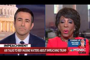"""Maxine Waters calls for Trump be put in """"solitary confinement"""""""