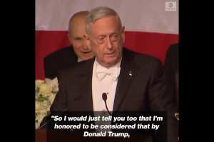 "Mattis bashes Trump: ""I earned my Spurs on the battlefield"""