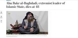 "WaPo: al-Baghdadi ""Austere Religious Scholar"""