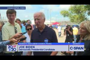 """Biden didn't want churchgoers to have guns calling it """"totally irrational"""""""