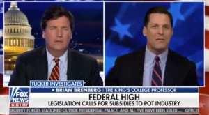 Tucker Carlson takes on elites pushing pot subsidies