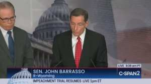 "Sen Barrasso: Bolton story ""very similar"" to Kavanaugh"