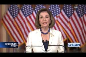 Nancy Pelosi at Resturant opening while US troops under fire in Iraq