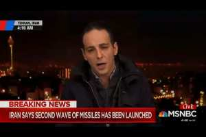 MSNBC cites Iranian TV fake death total