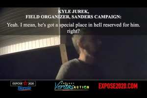 "Bernie staffer threatens O'keefe: ""What wouldn't I do to that guy?"""