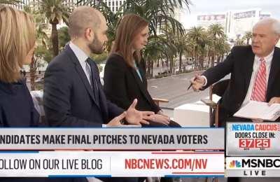 MSNBC's Matthews wonders if Dem moderates want 4 more years of Trump instead of Bernie