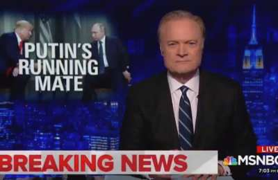 "MSNBC's Lawrence: Trump ""is a Russian operative"""