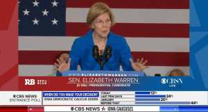 Warren thanks illegal aliens for helping out with her campaign