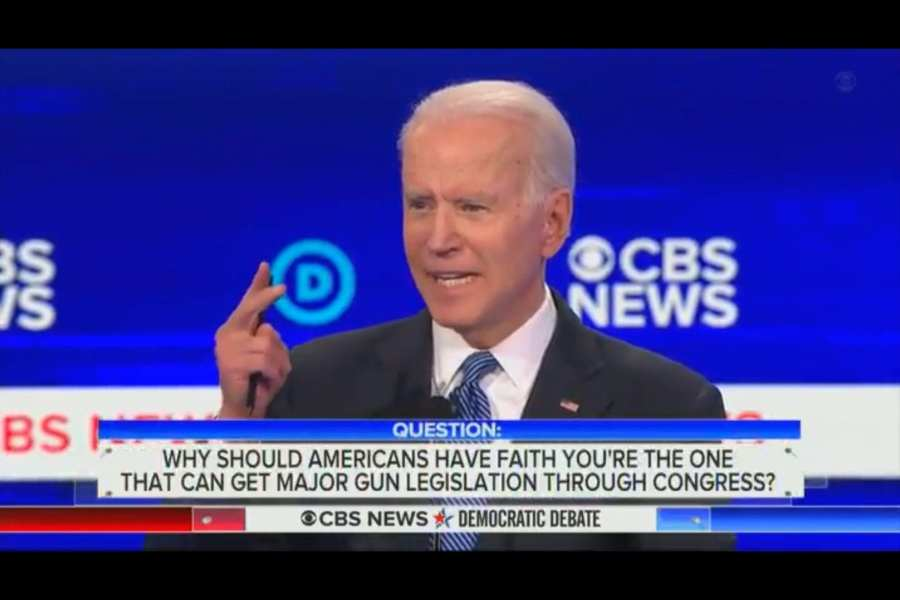 Joe Biden falsely claims 150 Millon Americans have died from firearms since 07