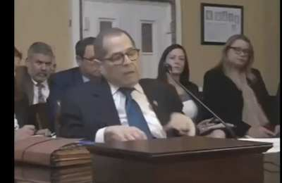 "FLASHBACK: Nadler claimed closing travel to foreigners didn't ""help the public health"""