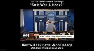 Hot Mic catches Fox News technician questioning if Chinavirus hysteria is a HOAX