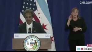 "Chicago Mayor To Trump: ""F-U"""
