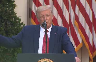 CNN And MSNBC Cut Away From Trump's Presser, Carried Biden's Full Speech