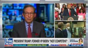 Wallace Praises Trump For Taking Tough Questions While Biden Doesn't
