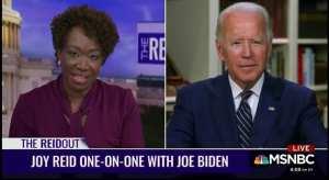 Biden Needs Notes To Get Through MSNBC Interview