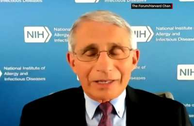 Dr. Fauci Backs In-Person Voting