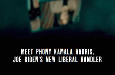"Trump Ad Calls Harris ""Biden's New Liberal Handler"""
