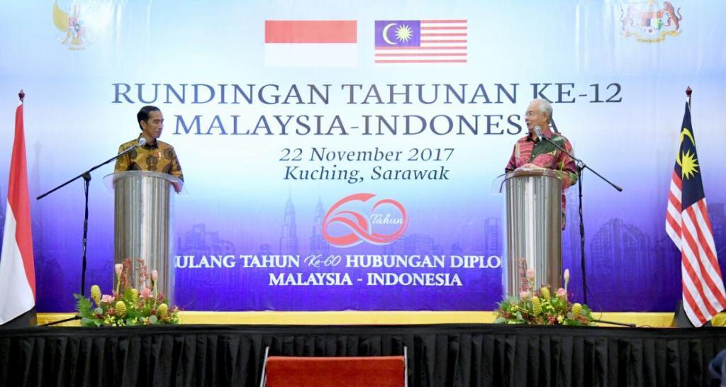Indonesia Jokowi Malaysia