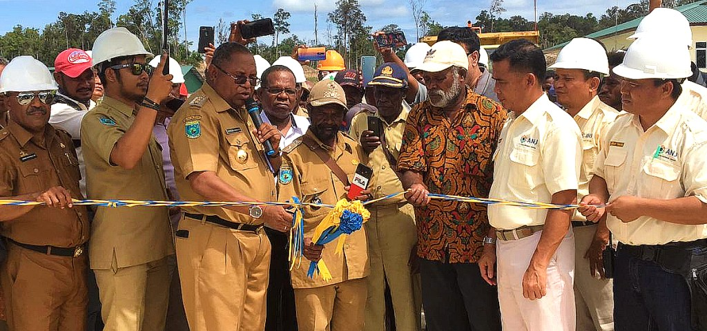 CPO produced ceremony in Sorong