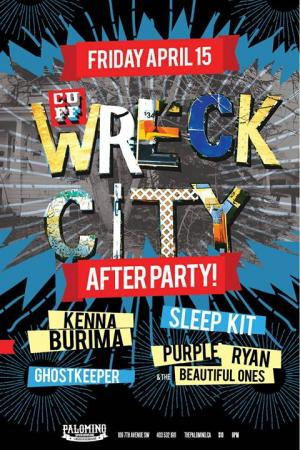 CUFF Wreck City Afterparty With Purple Ryan Sleepkit
