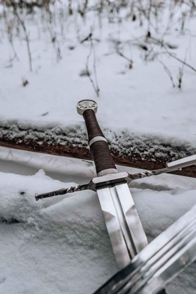 cold snow wood landscape