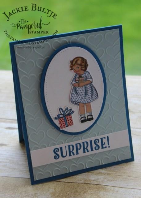 Happy Heart embossing folder with Birthday Memories Suite