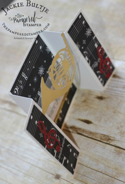 Here you can see the structure of the bridge fold card.