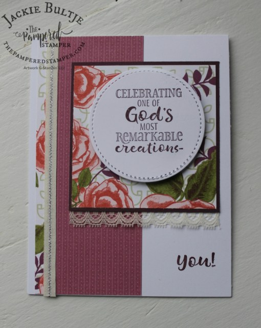 "#loveitchopit combination with the 6"" x 6"" Petal Garden paper"