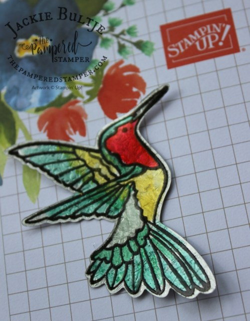 Bright and beautiful hummingbird from Humming Along