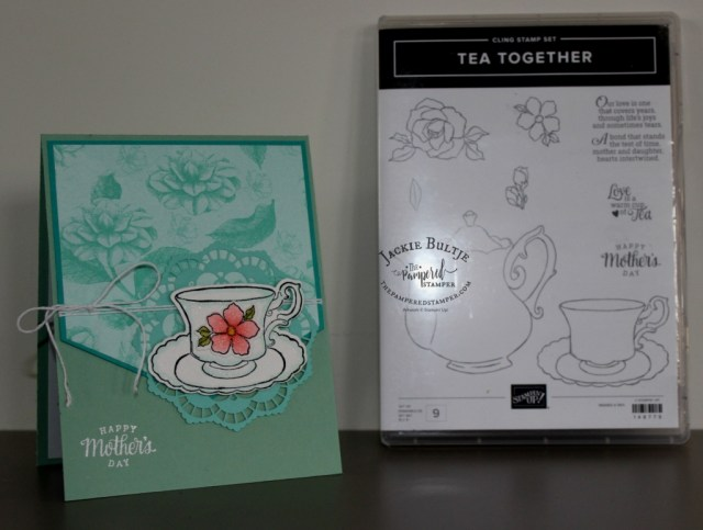 Card cased from Amy O'Neill using Tea Together