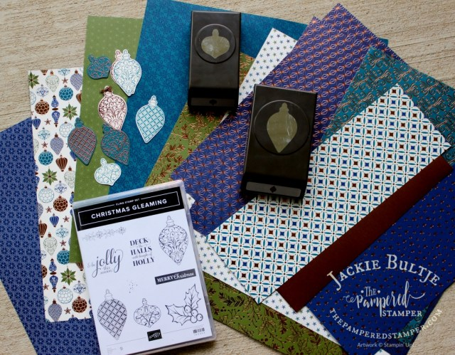 Brightly Gleaming Suite from the Stampin'Up! Holiday Catalog