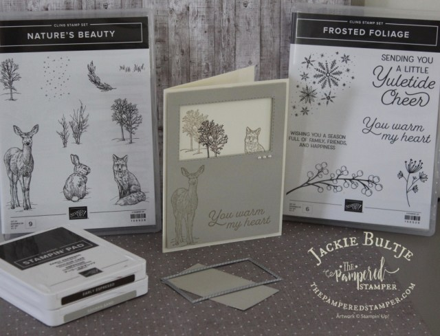 mental health fundraiser stamp set Nature's Beauty