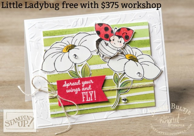 Little Ladybug- not too late to host a workshop and get it for free