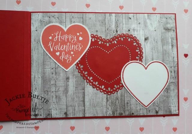 Heartfelt Valentine's Day card inside
