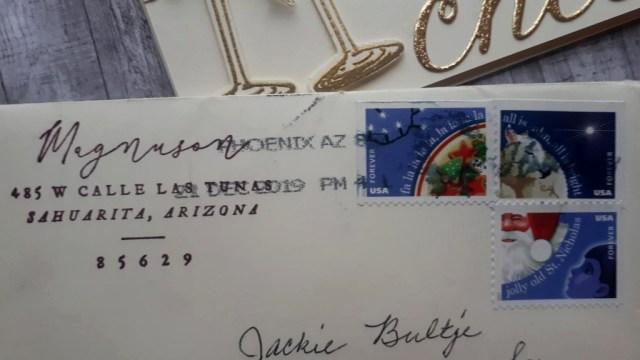 Postage details
