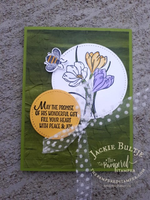Easter Promise with Bee