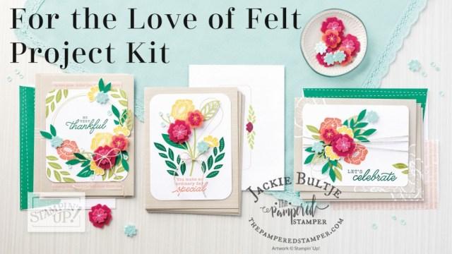 For the Love of Felt kit