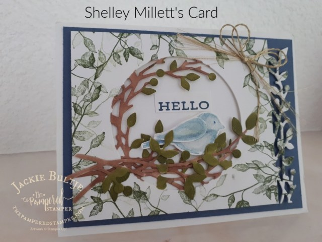 Birds and Branches card