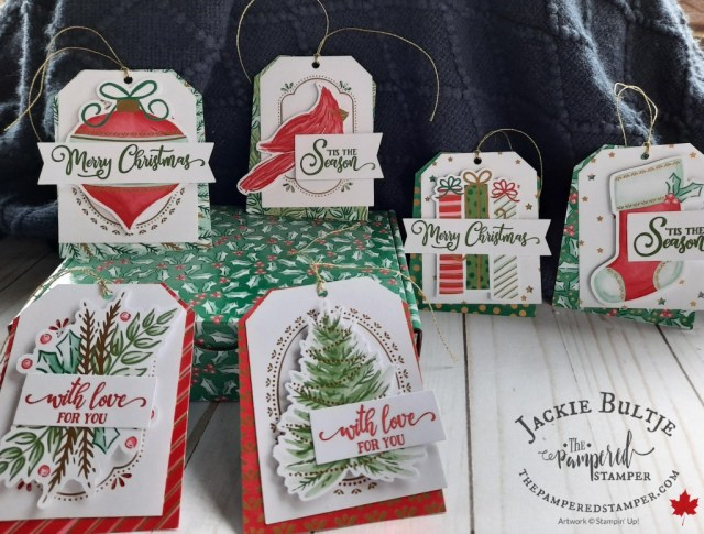 Gift tags from Tag Buffet Kit.